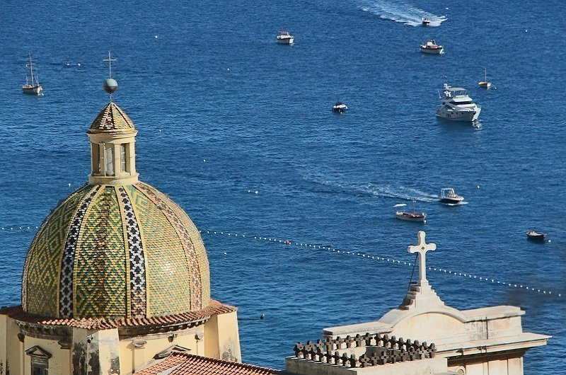 clocher cathedrale amalfi