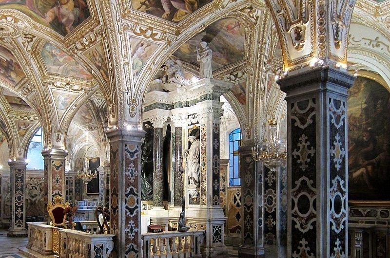 cathedrale amalfi crypte