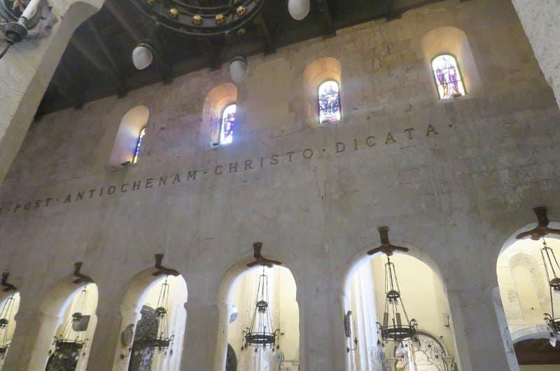 intérieur cathédrale de Syracuse