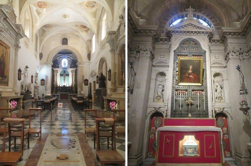 cathédrale de Syracuse intérieur