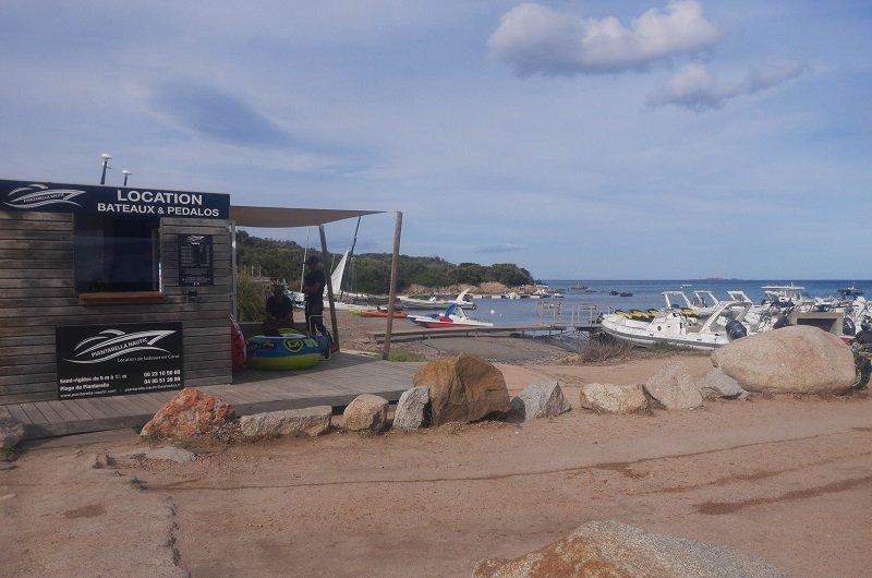 location bateau piantarella