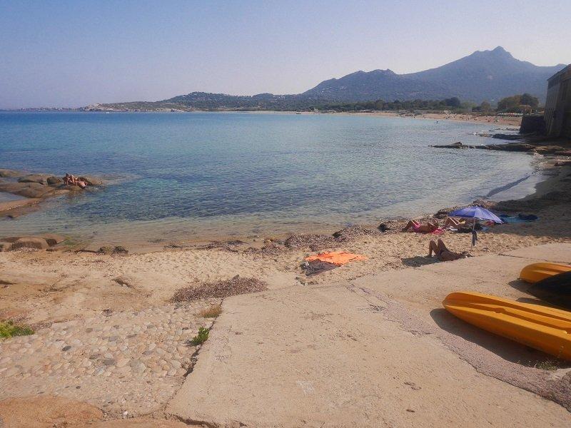 petite plage algajola