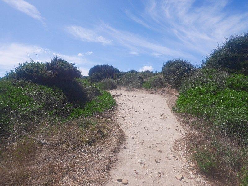 sentier plage de piantarella