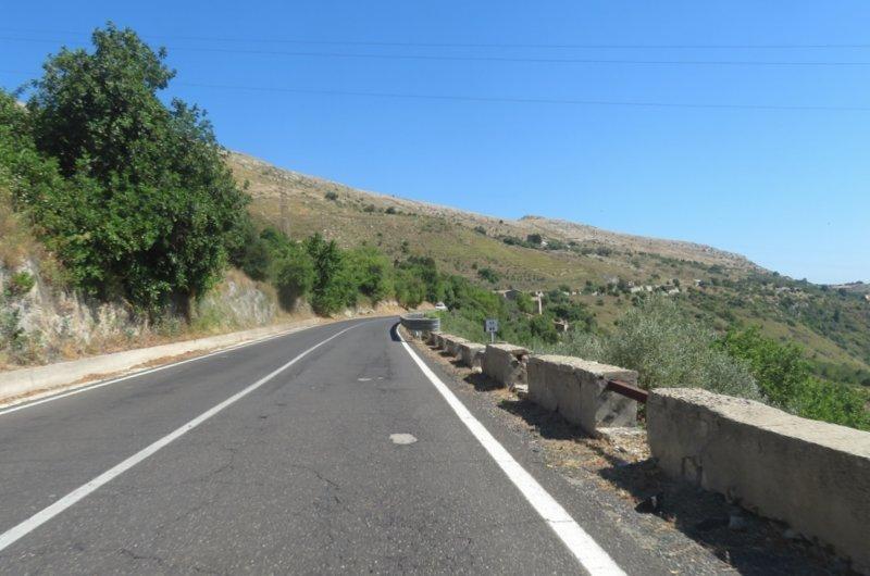 route campagne sicile
