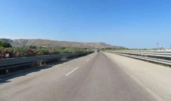 routes de sicile