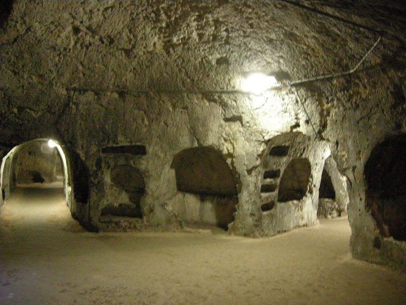 catacombes san giovanni syracuse