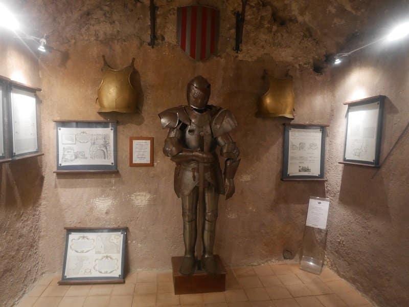 intérieur Castello Murat