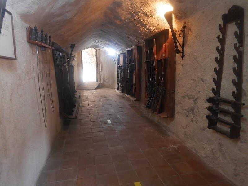 Castello Murat intérieur