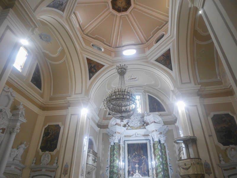 intérieur Chiesa del Gesù tropea