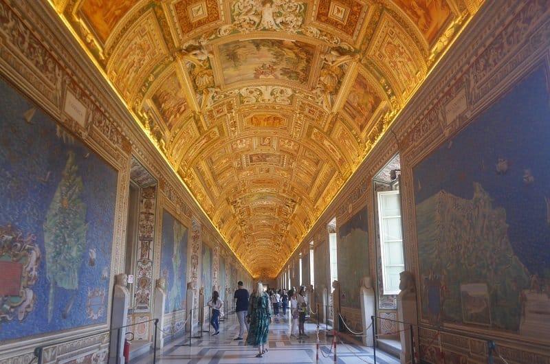 Galerie des cartes géographiques vatican