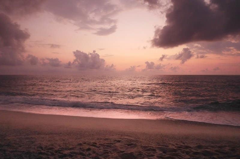coucher de soleil Costa Viola