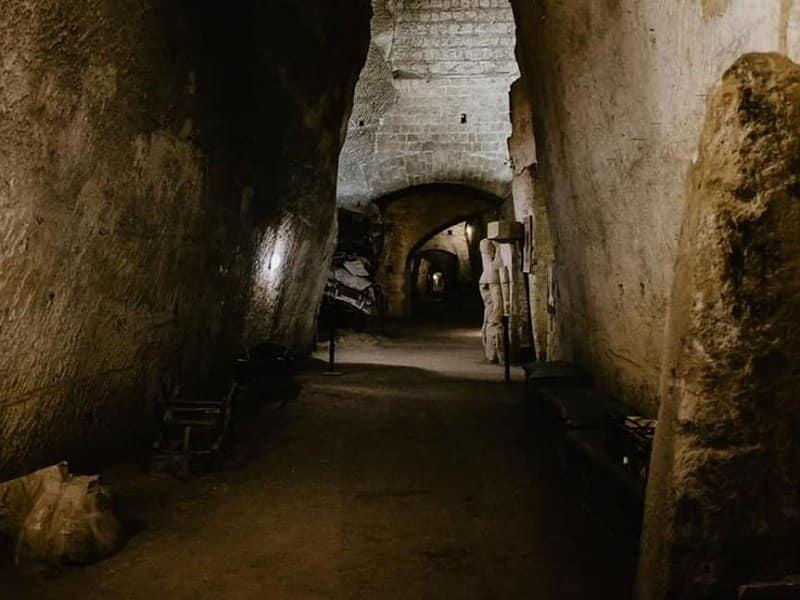 souterrain de naples