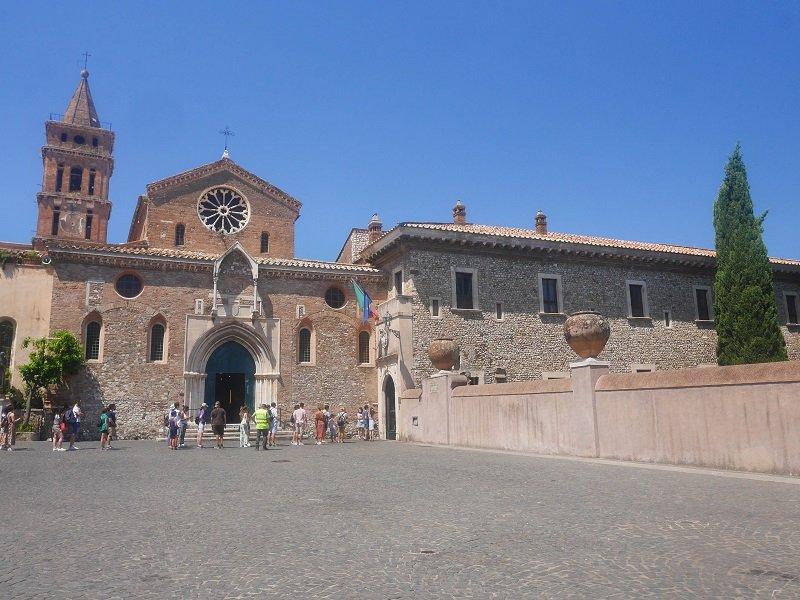 église Santa Maria Maggiore tivoli