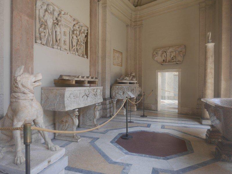 salle du musée du vatican