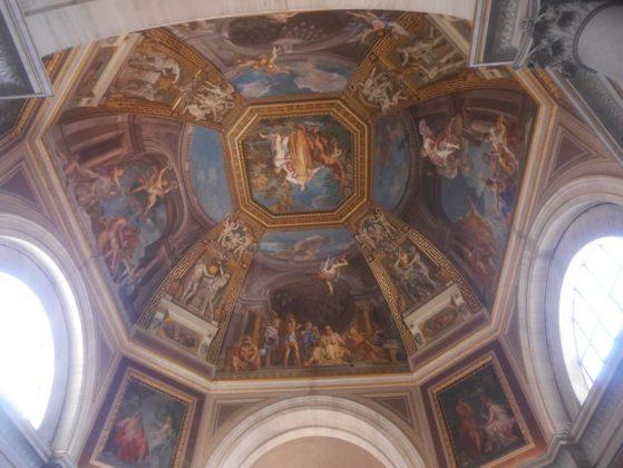plafond musée du vatican