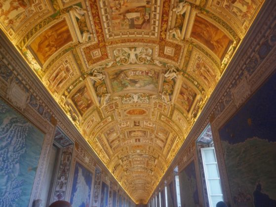 gallerie des cartes geographie vatican