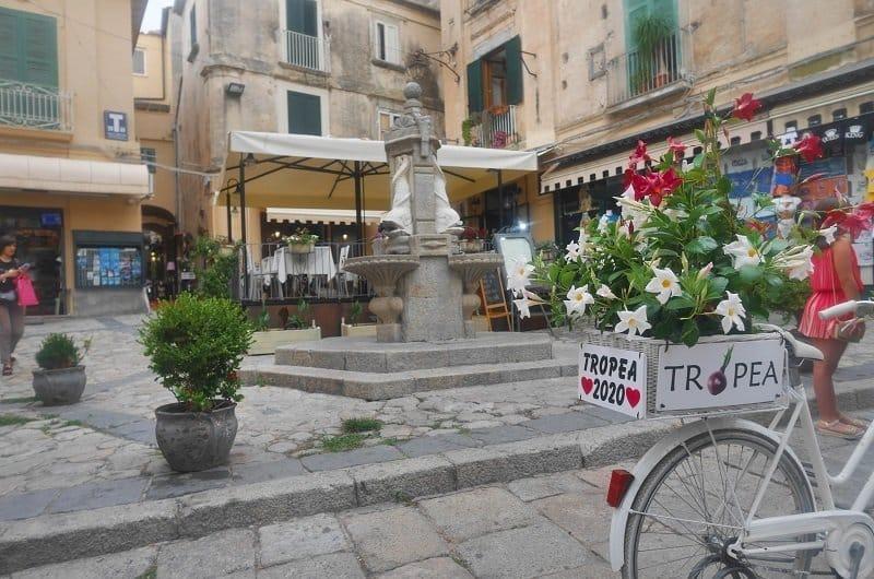 Piazza Mercato tropea