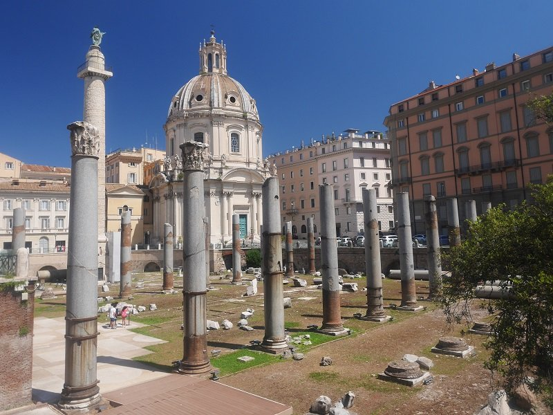 rome forums impériaux