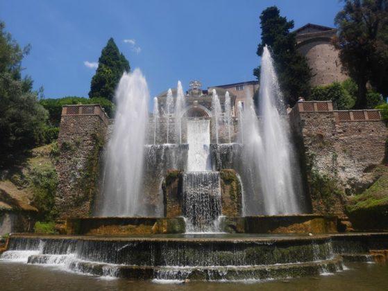 fontaine d'orgue villa d'este