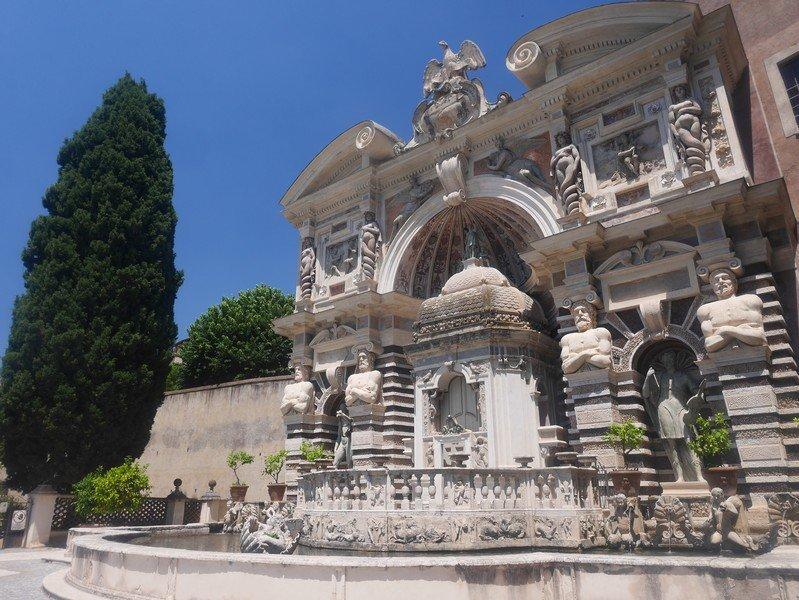 jardin villa d'este tivoli