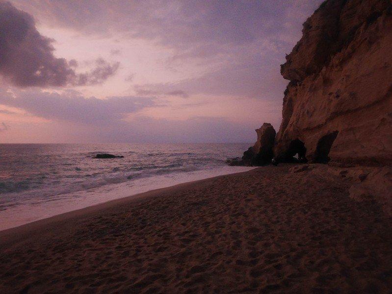 plage de tropea nuit