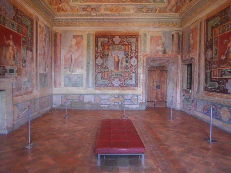 intérieur villa d'este tivoli