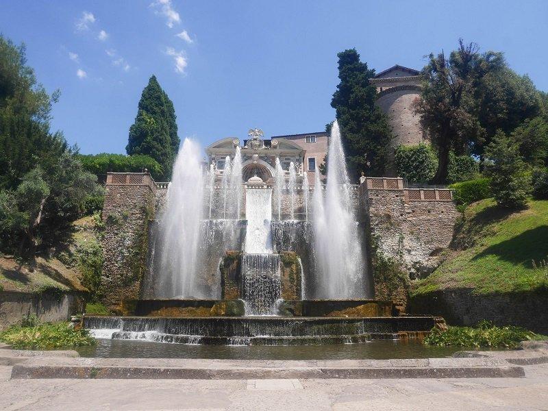 fontaine orgue villa d'este tivoli