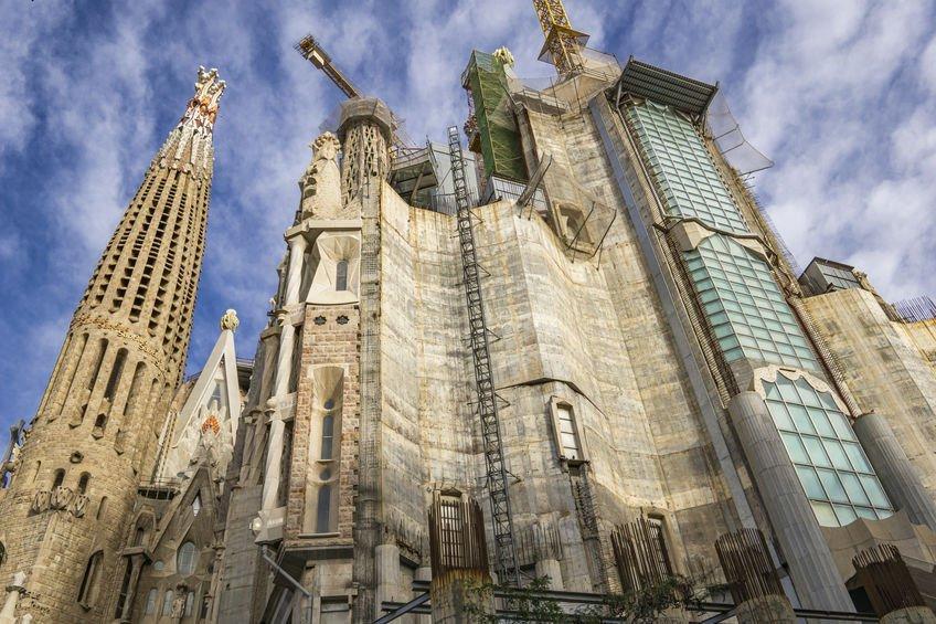 Sagrada Familia façade de la gloire