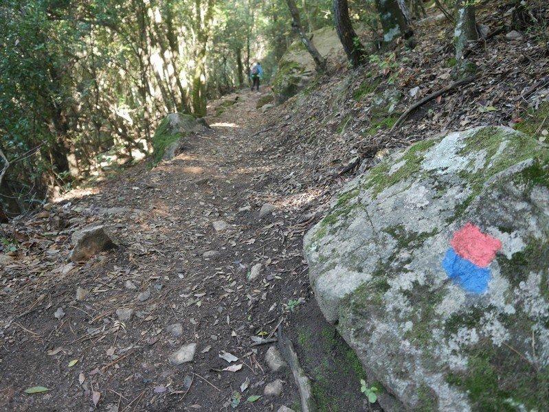 sentier randonnée bonifato
