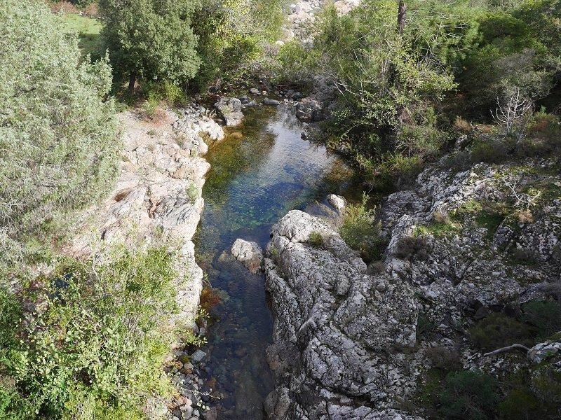 vallée du fangu piscine naturelle
