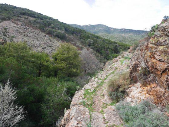 sentier lac de calca