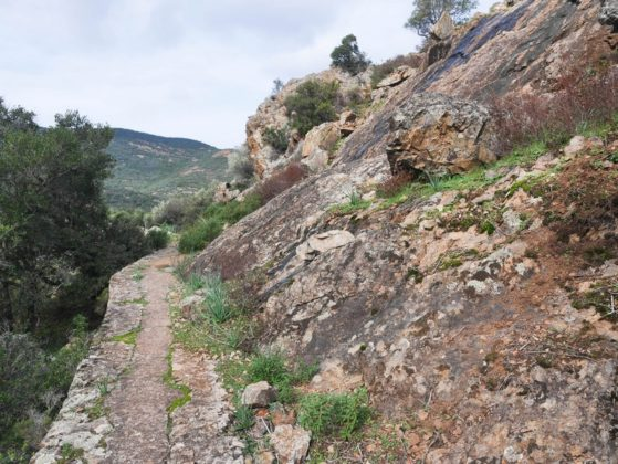 randonnée barrage de calca