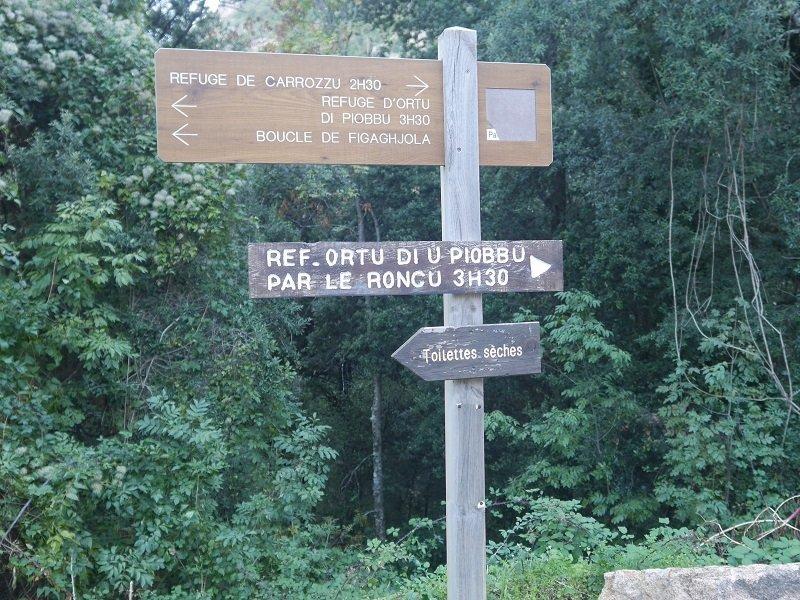 randonnée Ortu di U Piobbu