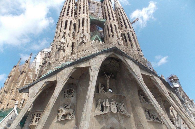 Sagrada Familia façade de la passion