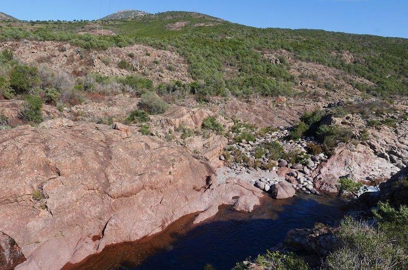 vallée du fango porphyre rouge