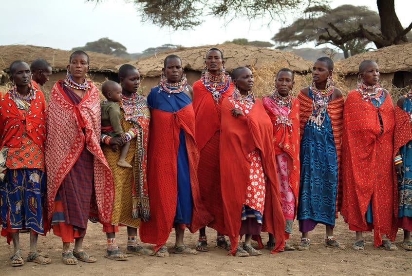 tribue masai réserve masai mara