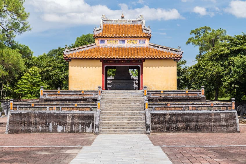 Tombeau de Minh Mang à Hué