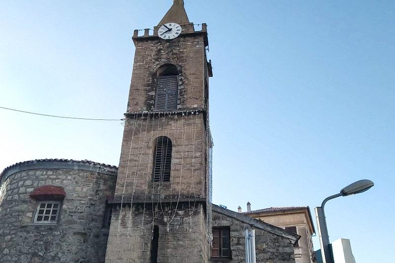 église paroissiale sainte lucie de tallano