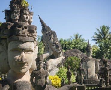 parc du bouddha vientiane