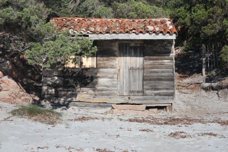 cabane plage de roccapina
