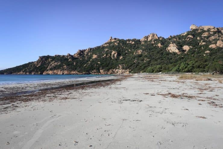 plage roccapina