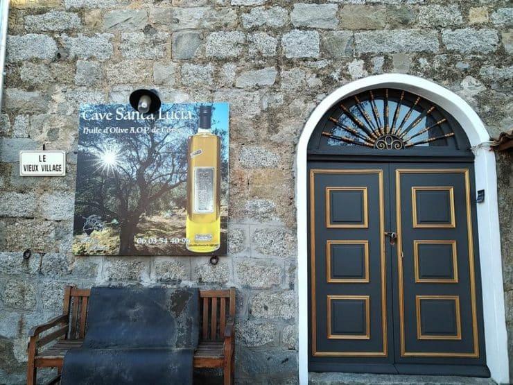 cave huile d'olive sainte lucie de tallano