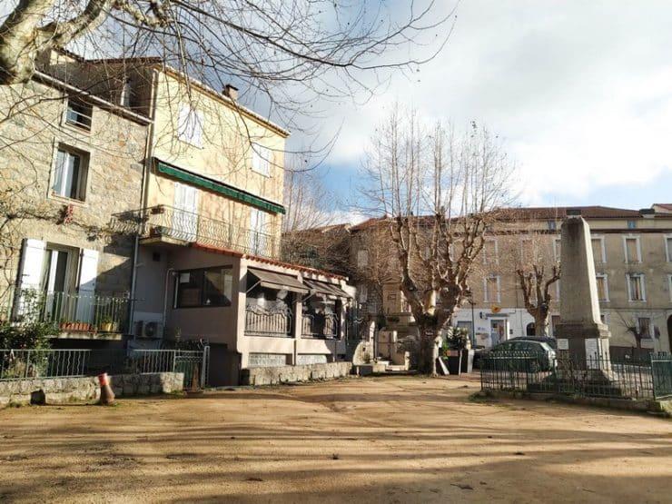 place centrale sainte lucie de tallano