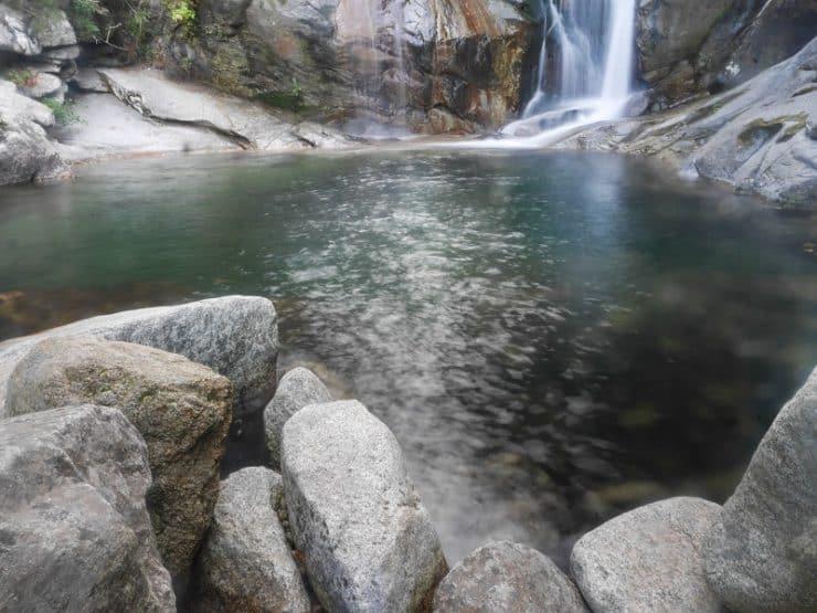 piscine cacade de zicavo