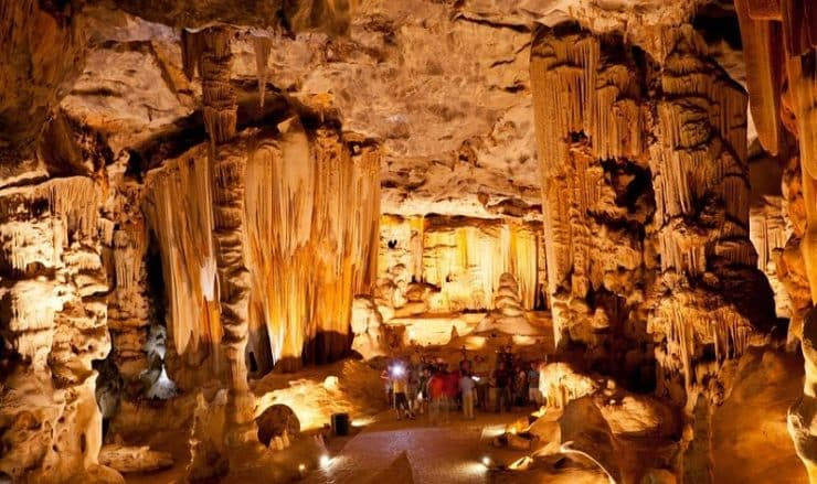 Grottes du Cango en Afrique du Sud