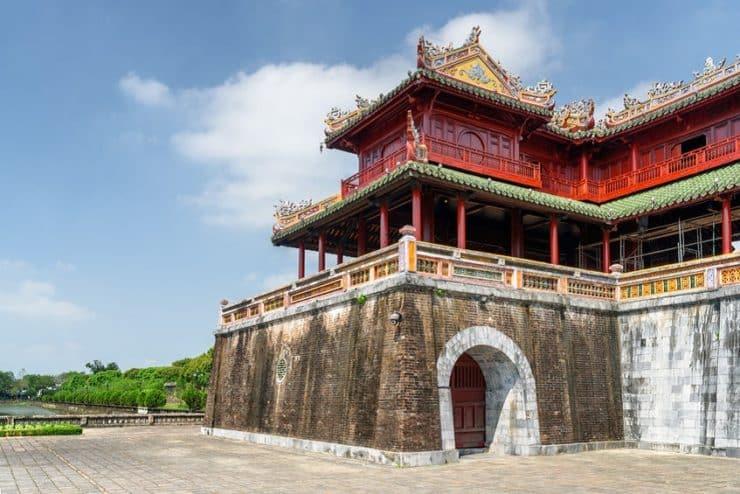 visite de la citadelle de hué