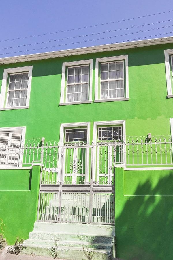 maison colorée bo kaap