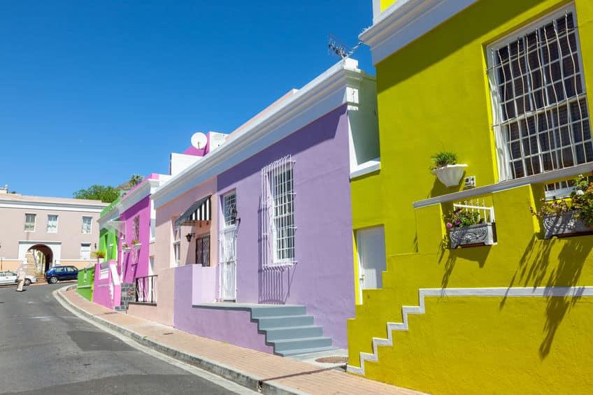 bo kaap maisons colorées