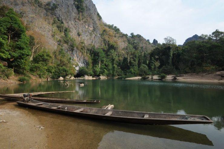 rivière grotte de kong lor