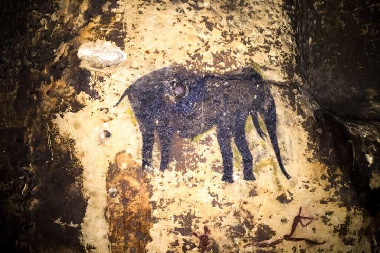 Grottes du Cango peinture rupestre
